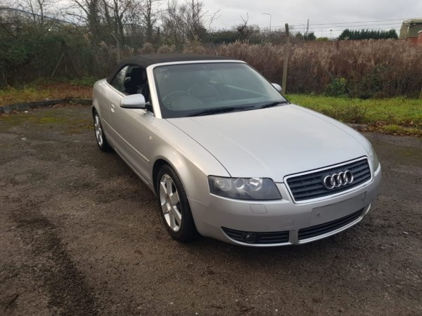 2003 audi a4 3ltr convertible automatic £1595